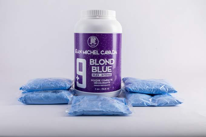 poudre compacte décolorante premium 9 tons PLEX 5 KG